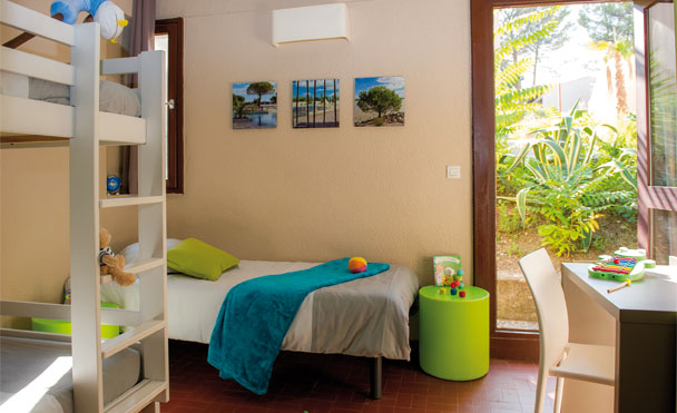 space specially for kids bedroom with terrace