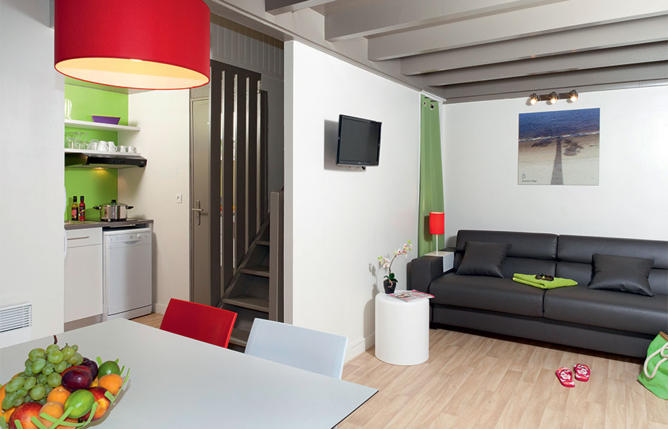 Modern, spacious accommodation