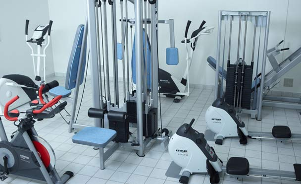 Fitness room on-site