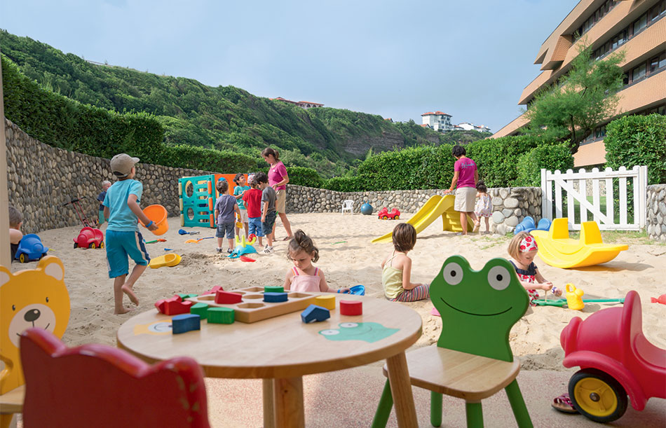Kids' clubs during the school holidays