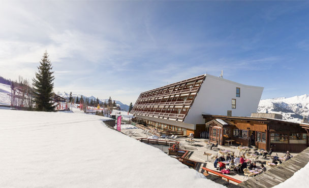 Located in Arc 1600 ski area