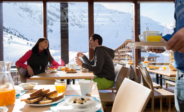 exceptional panoramas restaurant with mountain view