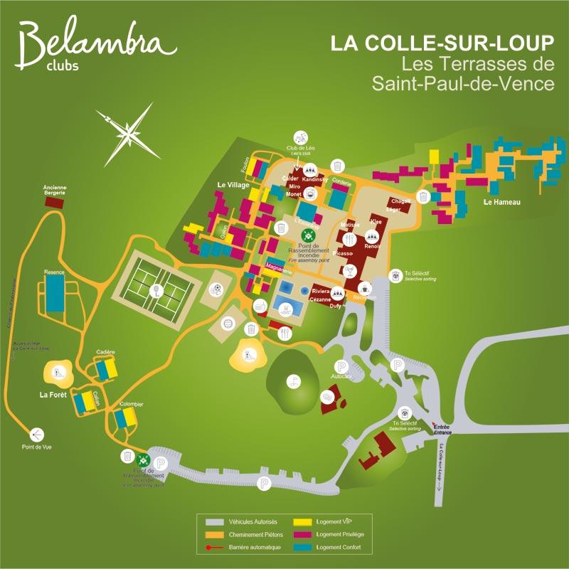 La Colle-sur-Loup Les terres de Saint-Paul-de-Vence ... on st. paul hotels map, saint paul de vence tourism, barra de navidad mexico map, saint remy de provence map, city of saint paul map, saint jean cap ferrat map,